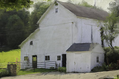 Westport Barn Art Print