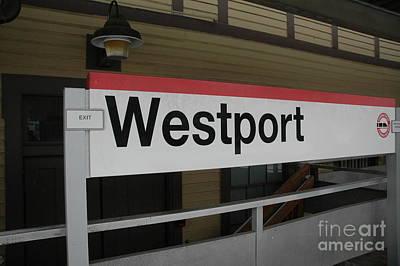Westport Art Print