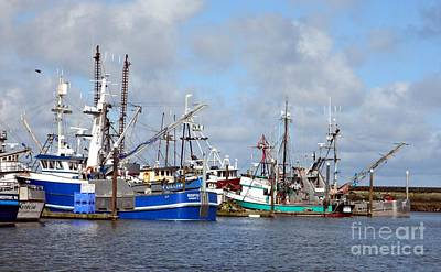 Photograph - Westport Fishing Boats 2 by Chalet Roome-Rigdon