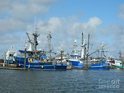 Photograph - Westport Fishing Boats by Chalet Roome-Rigdon