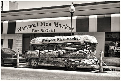 Photograph - Westport Flea Market by Crystal Nederman