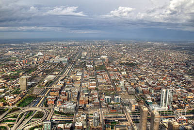 Uic Photograph - Westside Chicago by Steven K Sembach