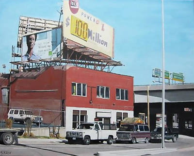 Urban Landscapes Painting - Westside Kc by Patricio Lazen
