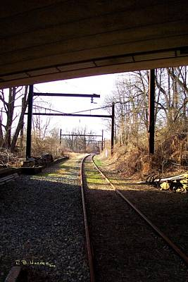 Photograph - Westtown Station To West Chester by R B Harper