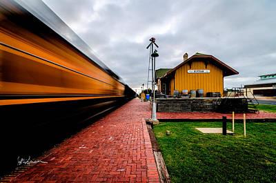 Photograph - Westward Bound Train by Jeffrey W Spencer