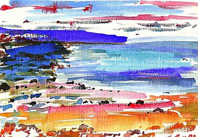 Painting - Westward Ho Shore by Anthony Fox