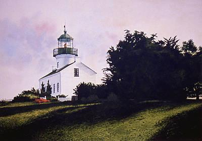Painting - Westward Light by Tom Wooldridge