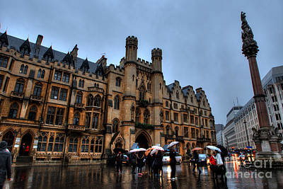 Photograph - Wet And Miserable London by Deborah Smolinske