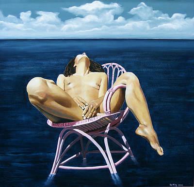 Wet Dream Art Print by Jo King