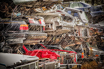 Photograph - Wet Junk by Denis Lemay