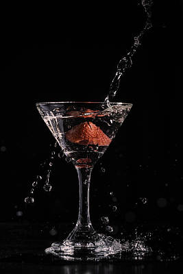 Martini Royalty-Free and Rights-Managed Images - Wet Martini  by Billy Bateman