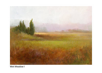 Painting - Wet Meadow I by Betsy Derrick