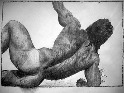 WET Art Print by Mike Gonzalez