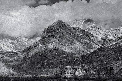 Mark Myhaver Royalty Free Images - Wet Mountain Snow No.1 Royalty-Free Image by Mark Myhaver