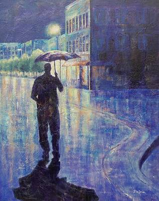 Wet Night Art Print by Susan DeLain
