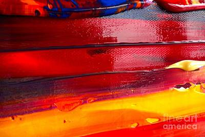 Wet Paint 123 Art Print