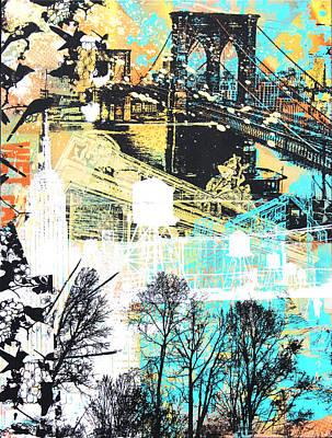 Wet Paint Print by 624713art