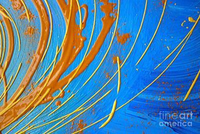 Stellar Interstellar - Wet Paint 84 by Jacqueline Athmann