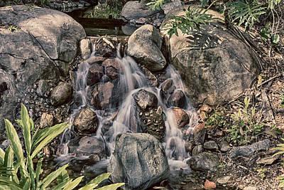 Photograph - Wet Rocks by Nicholas Evans