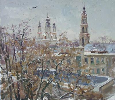 Wet Snow Original by Victoria Kharchenko