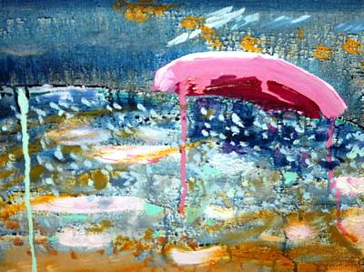 Painting - Wet Sun by Leslie Byrne