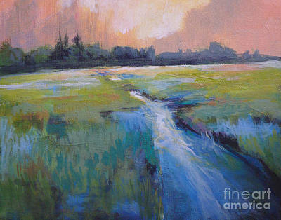 Wetland Art Print by Melody Cleary