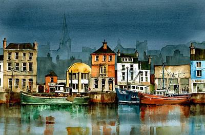 Wexford Quayside Art Print