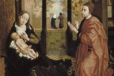Weyden, Rogier Van Der  1400-1464. St Art Print by Everett