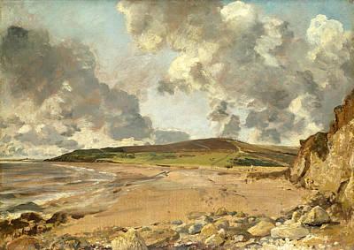 Weymouth Bay . Bowleaze Cove And Jordon Hill Art Print by John Constable