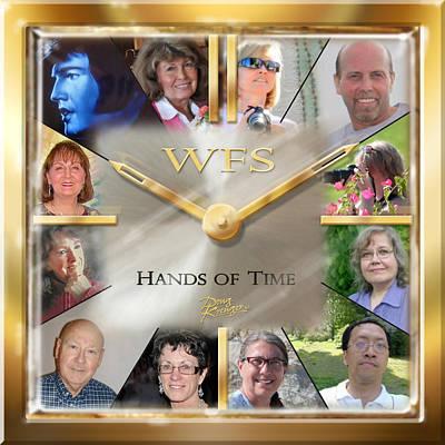 Wfs Hands Of Time Art Print by Doug Kreuger