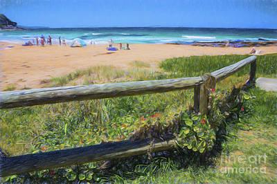 Whale Beach Sydney Art Print by Avalon Fine Art Photography