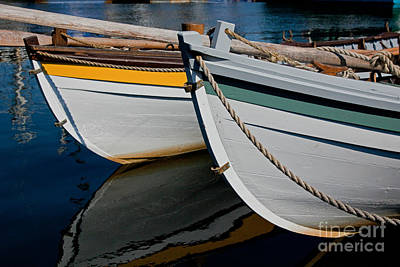 Photograph - Longboats by Butch Lombardi