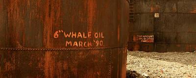 Whale Oil Tanks Art Print
