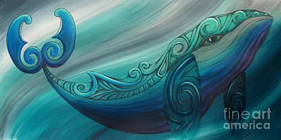 Whale Rua Art Print