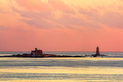 Photograph - Whaleback Lighthouse by Robert Clifford