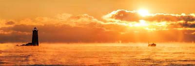 Photograph - Whaleback Sunrise by Robert Clifford