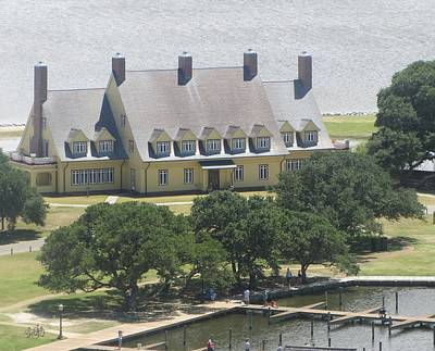 Currituck Photograph - Whalehead Club by Cathy Lindsey