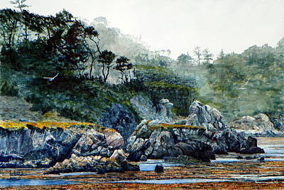 Painting - Whalers Cove II by Bill Hudson