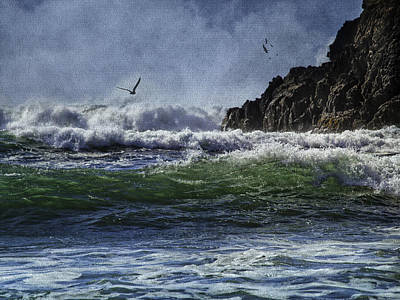Whales Head Beach Southern Oregon Coast Art Print
