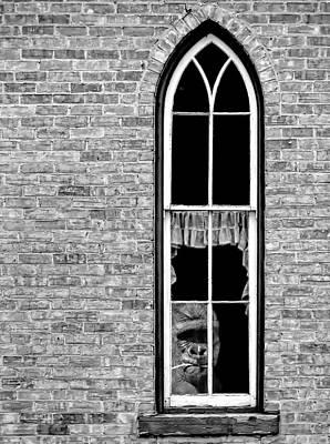 Critique Photograph - What 800 Lbs Gorilla Bw by Steve Harrington