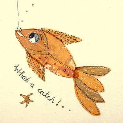 What A Catch Art Print