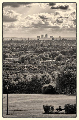 Photograph - What A Great View Of London Town by Lenny Carter