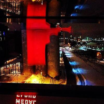 Downtown Wall Art - Photograph - A View From The Guthrie by Heidi Hermes