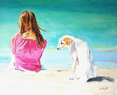 Painting - What About Me  by Judy Kay