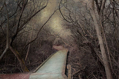 Walkway Digital Art - What Awaits Curiosity by Jeff Burgess