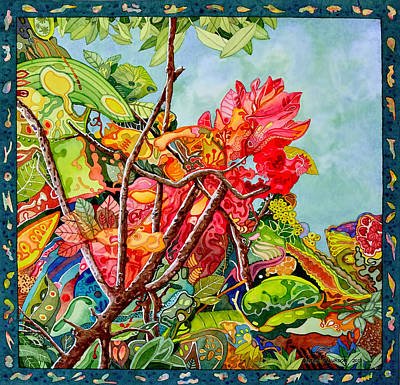 What Color Is Your Garden? Art Print