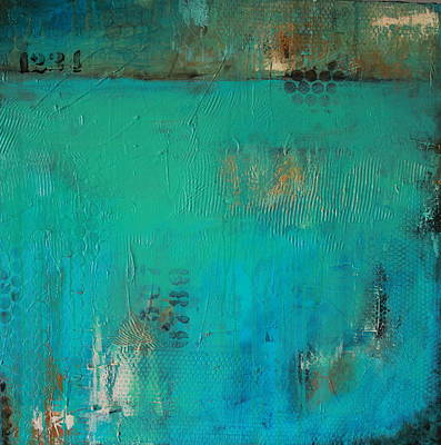 Painting - Blue Lagoon by Lauren Petit