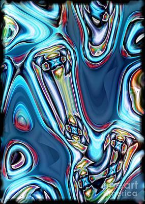 Digital Art - What Did You Say by Gabriele Pomykaj