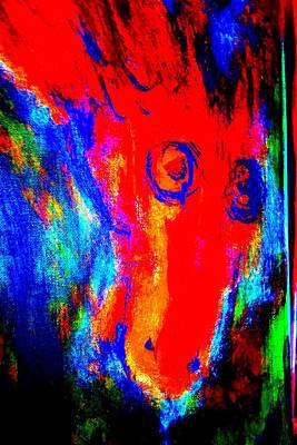 Conscious Painting - What Did You Say, I Said, But He Didn't Say    by Hilde Widerberg