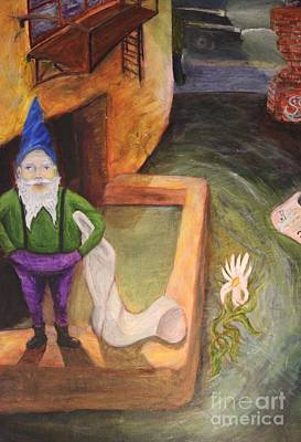 What Do You Gnome About Me Art Print